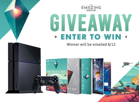 No Man's Sky Limited Edition PS4 Bundle GIveaway