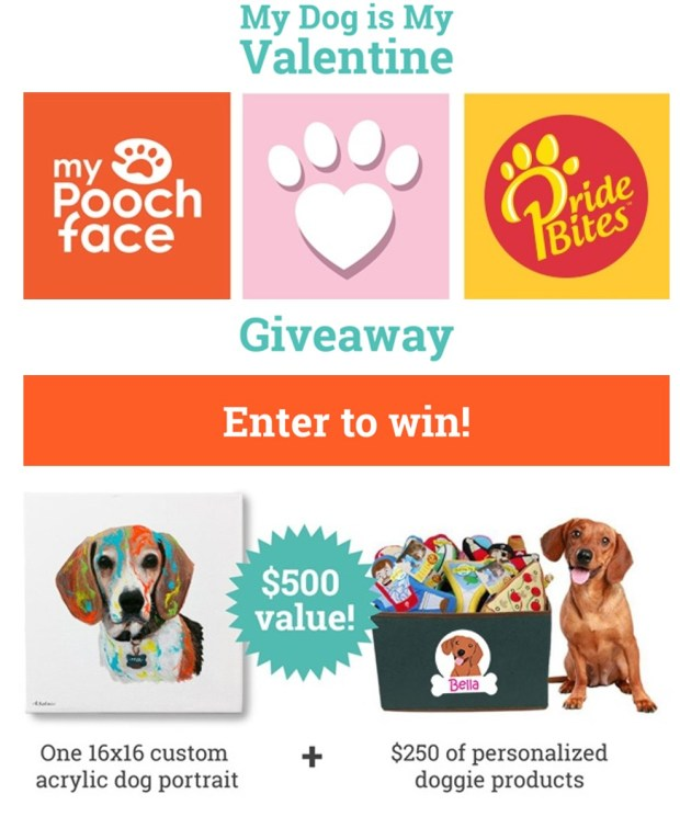 My Dog is My Valentine - Giveaway