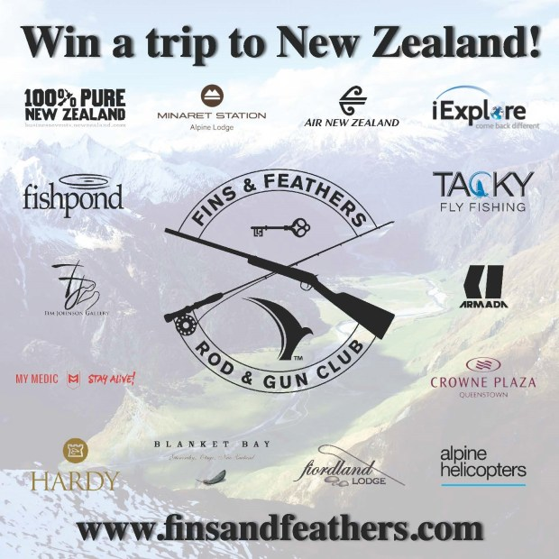 Fins and Feathers New Zealand Trip Giveaway