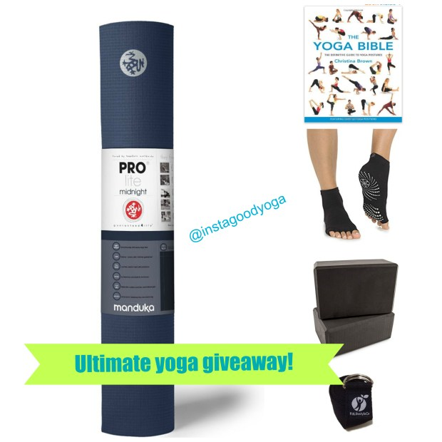 Enter to Win the Ultimate Yoga Package!