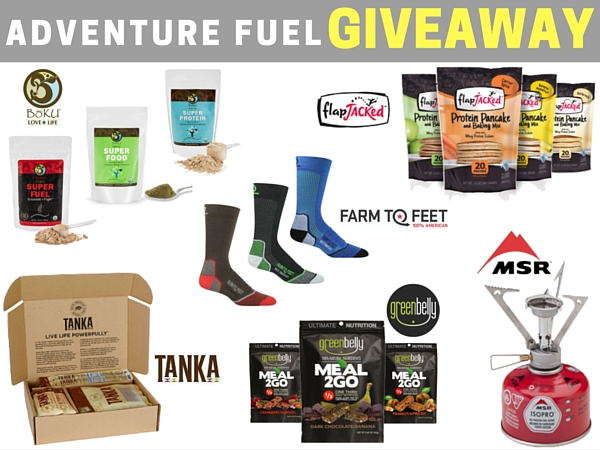Enter to Win the Adventure Fuel Giveaway!