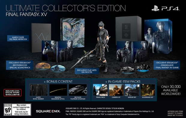 Final Fantasy XV: Ultimate Collectors Edition