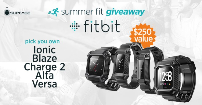 SUPCASE Fitbit Giveaway – Ends 7-15