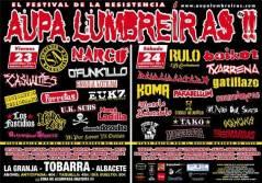 Cartel Aupa Lumbreiras!! 2011
