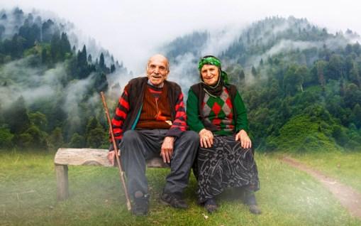 Old Turkish couple