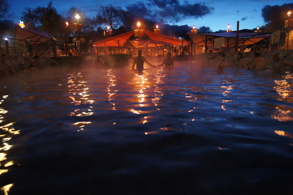 Winter Weather Hot Springs A Perfect Day In Idaho