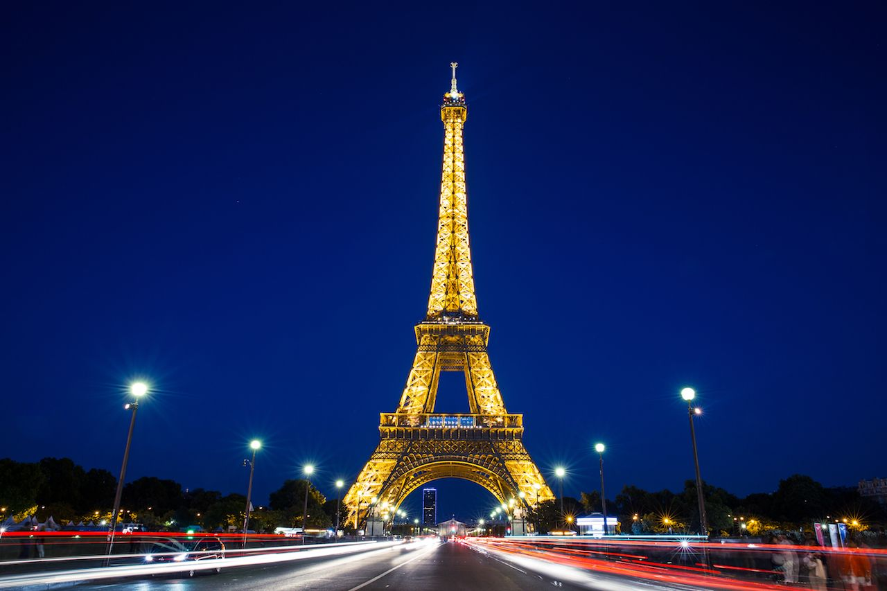 Eiffel Towering Meaning