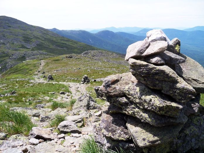 Presidential Traverse at the White Mountains, New Hampshire