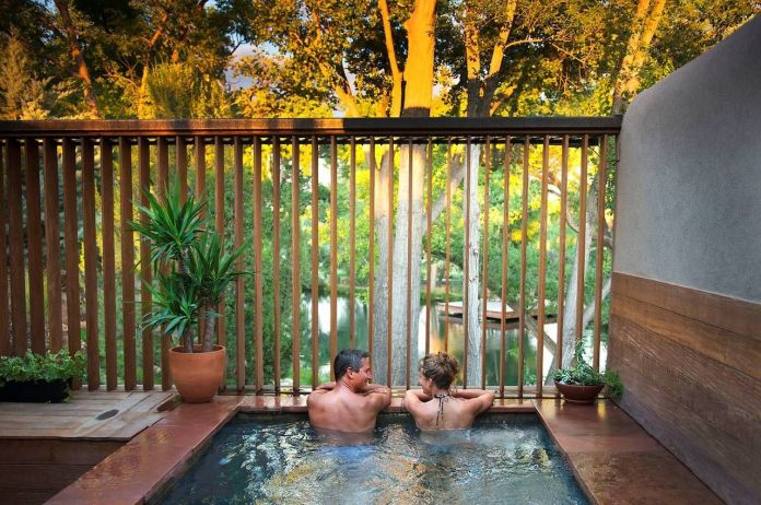 Santa Fe spa for couples