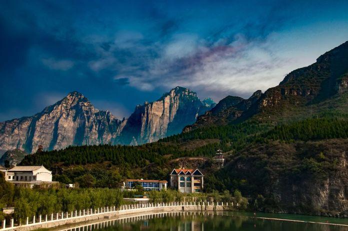 Famous sights of Yesanpo