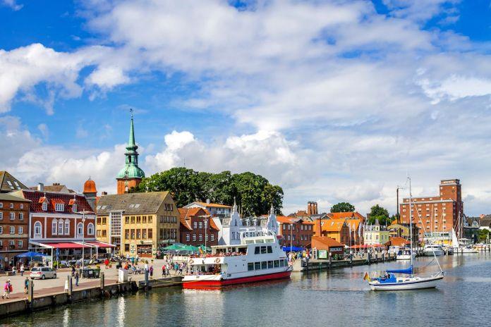 Flensburg, Old City, Germany