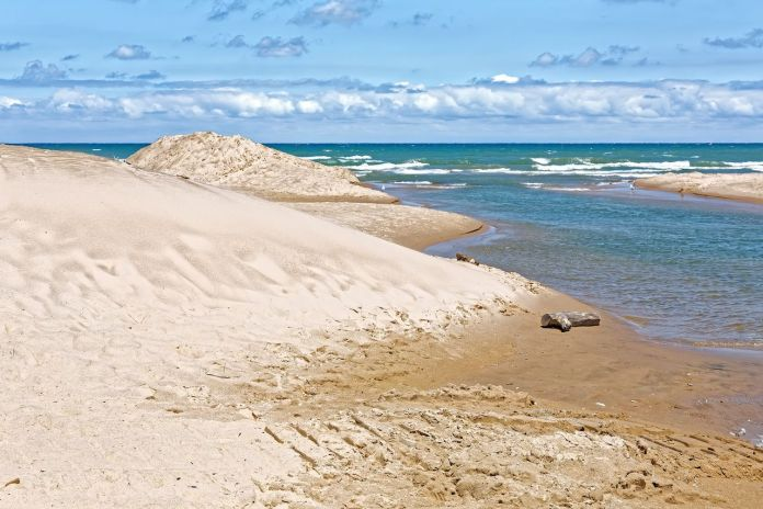 Indiana Dunes National Lakeshore is a National Park on Lake Michigan's south shore