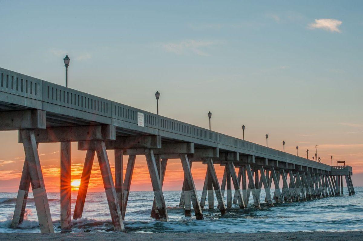 Sun rises in Wrightsville Beach, NC/ First Light