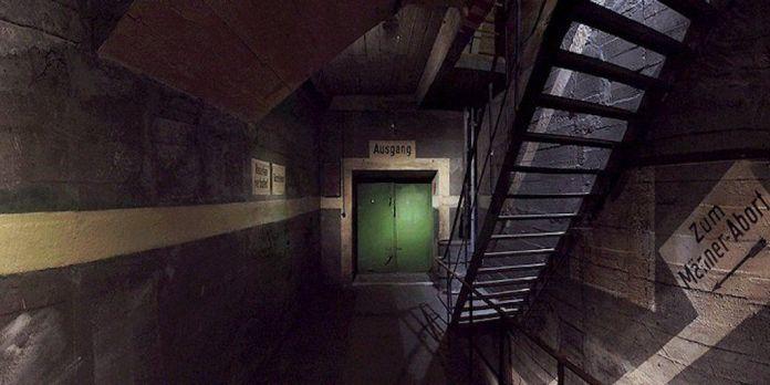 Underground tunnels in Berlin