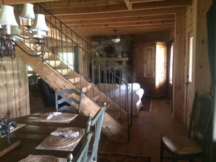 Inside Tony Stark's cabin in Endgame