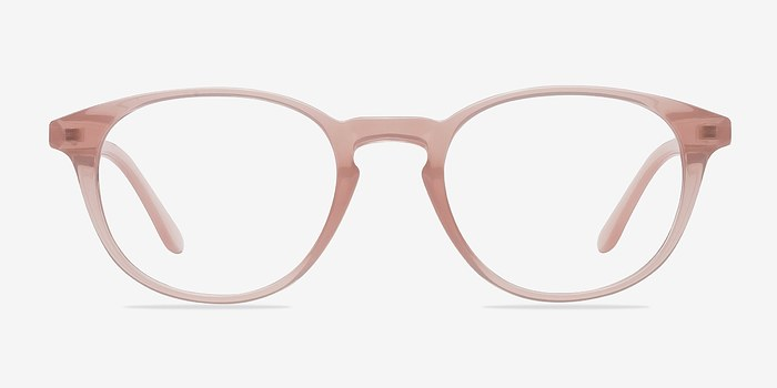Sea Breeze Pink Women Plastic Eyeglasses EyeBuyDirect