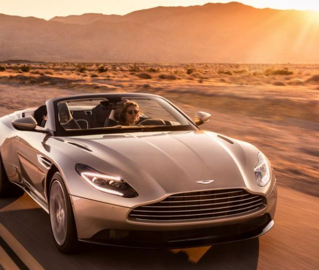Aston Martin Reveals The Db Volante