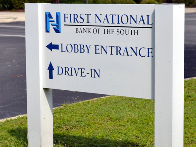 outdoor business signs lighted signs