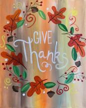 Nov 25 · Give Thanks: Painting & Vino Art Class — Nextdoor