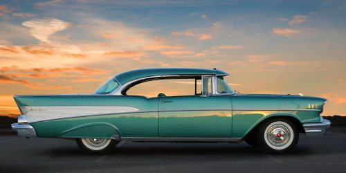 This 1957 Chevrolet Bel Air Now Steers From The Other Side     This 1957 Chevrolet Bel Air Now Steers From The Other Side