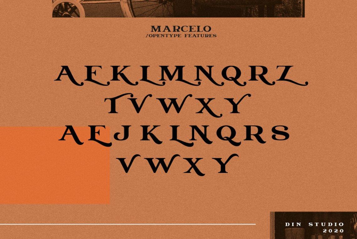 Download Marcelo - Desktop Font & WebFont - YouWorkForThem