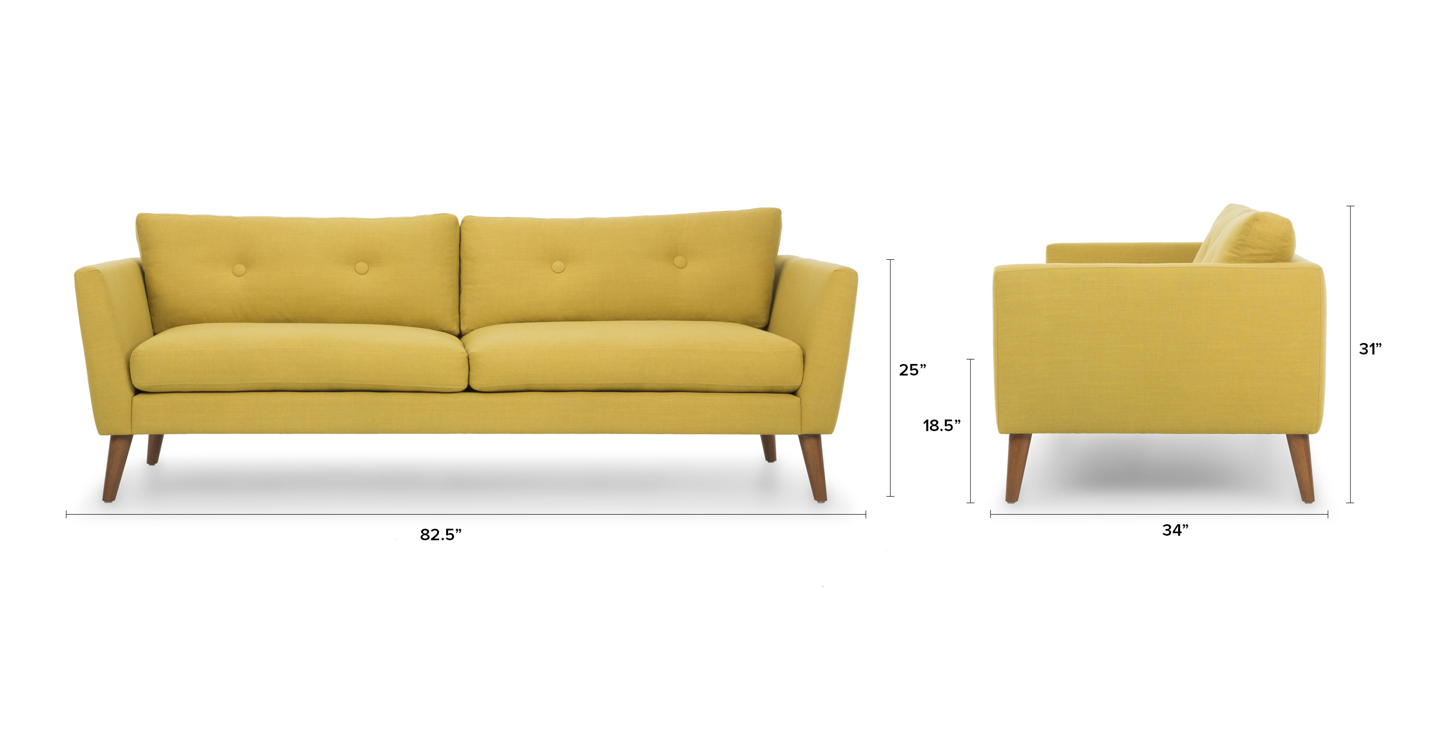 Yellow Accent Chairs Canada