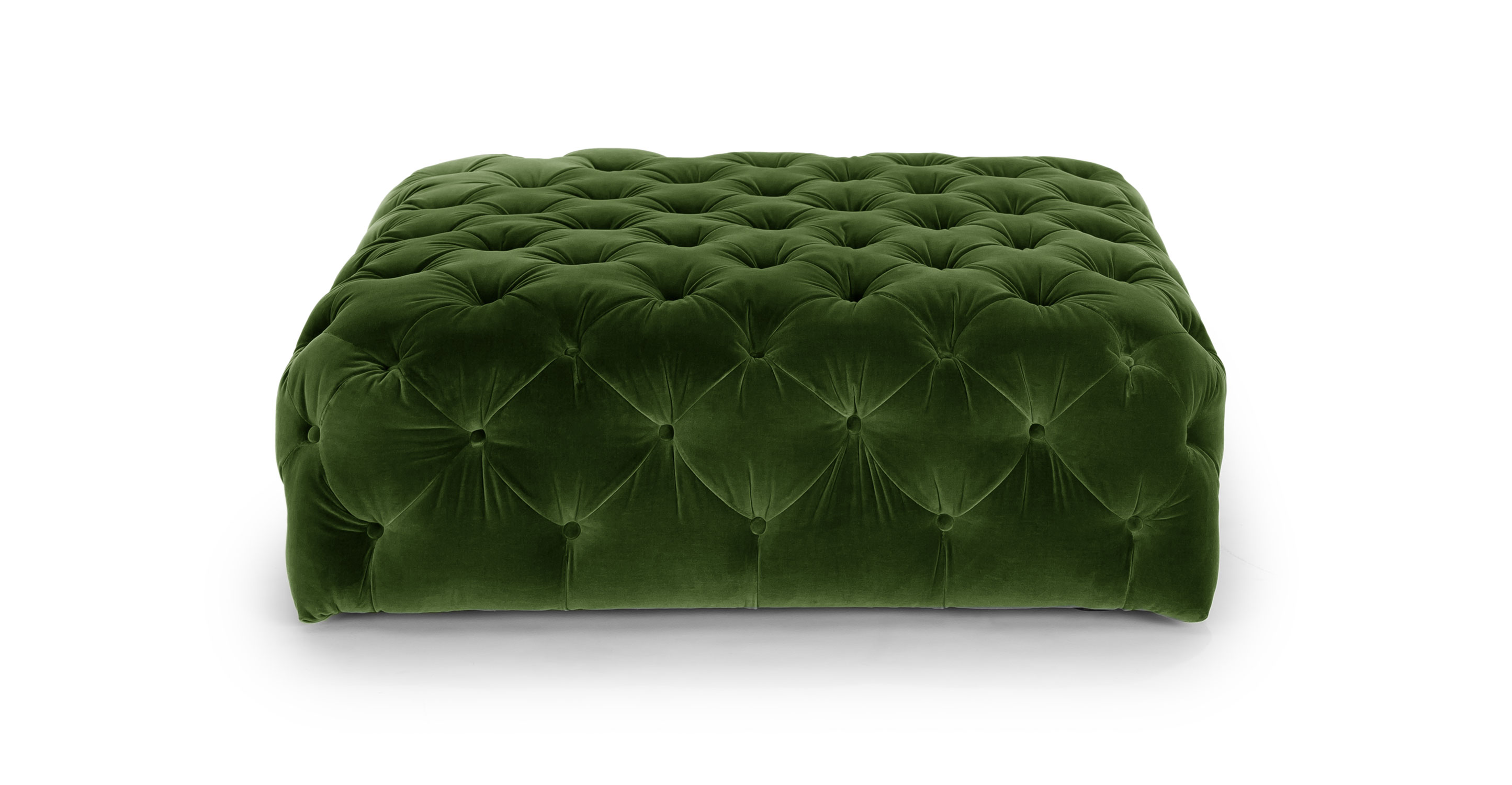 Tufted Storage Ottoman Coffee Table