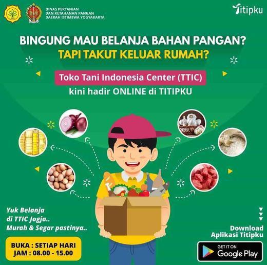 Toko Tani Indonesia Center (TTIC) Kini Hadir ONLINE Di TITIPKU ...