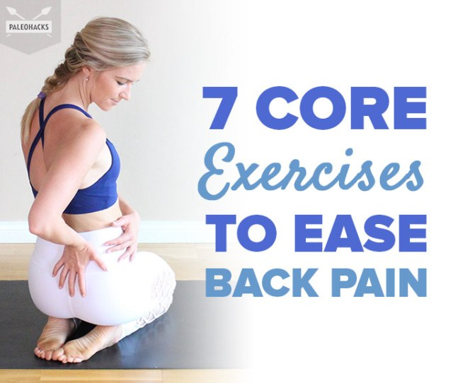Core Exercises To Ease Back Pain