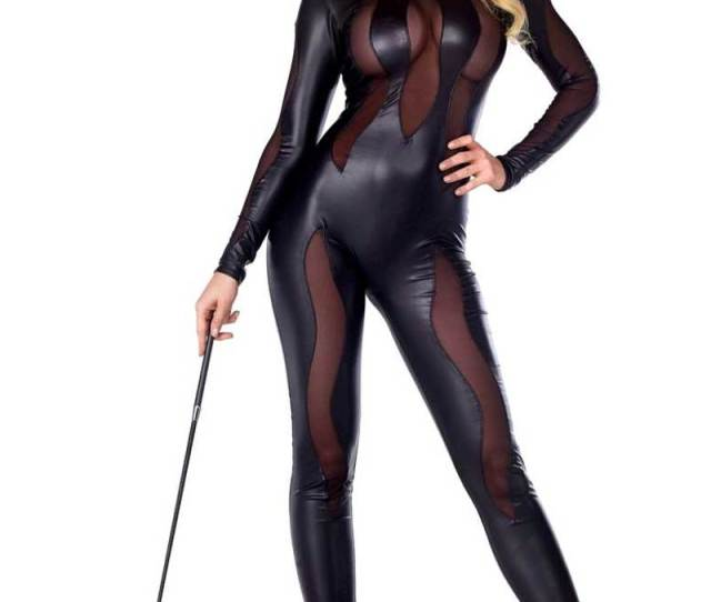 Luscious Lynx Black Cat Sexy Costume By Forplay Foxy Lingerie