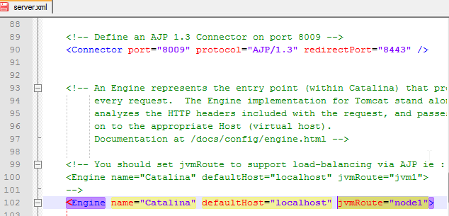 screenshot of where these lines are in server.xml