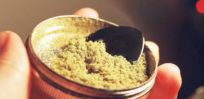 Kief, a form of concentrated cannabis