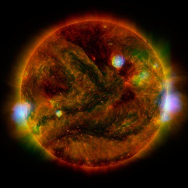 NuSTAR Stares at the Sun