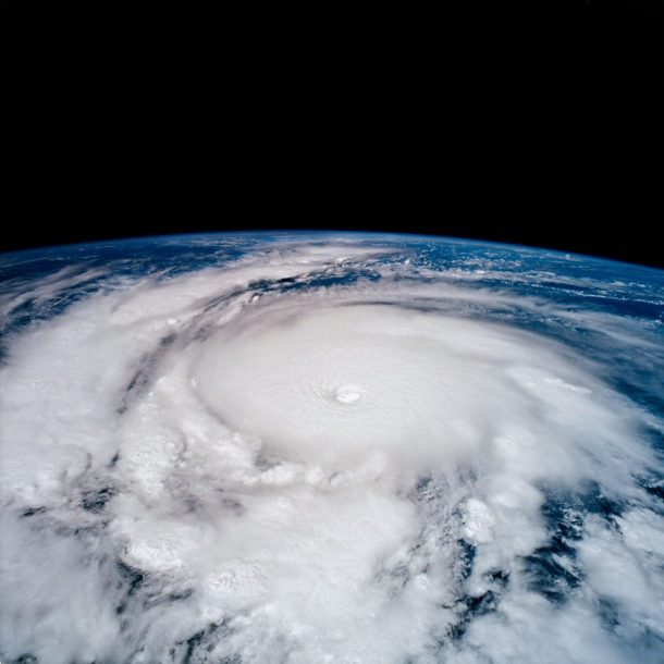 TS-65 Earth observation of Hurricane Emilia in Eastern Pacific Ocean