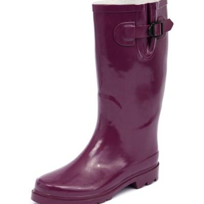 Gumboots Glossy Purple (Purple)
