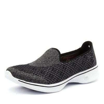 Skechers Go Walk Kindle Black/White (Black)