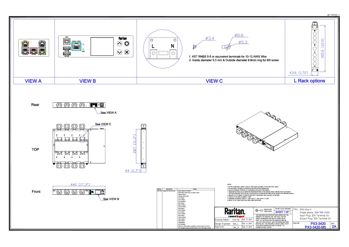 Rack Pdu Px3 Product Selector