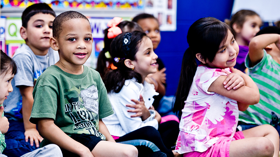 Preschool children participating in TPAC's Wolf Trap program, photo by Mimosa Arts