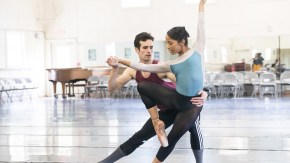 Nashville Ballet's Owen Thorne and Kayla Rowser rehearse 'Lucy Negro Redux'