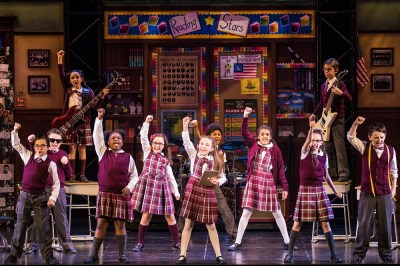 The cast of the 'School of Rock' tour.