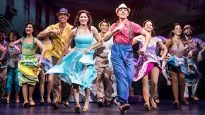 cast of On Your Feet! on stage