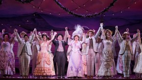 Hello, Dolly! cast on stage