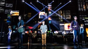 Ben Levi Ross and the company of the First North American Tour of 'Dear Evan Hansen.'