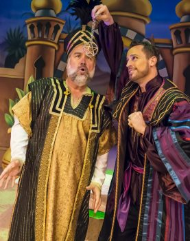 Richard Karn (left) and Josh Adamson (right) in 'Aladdin and His Winter Wish