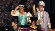 Students in prince and princess costumes