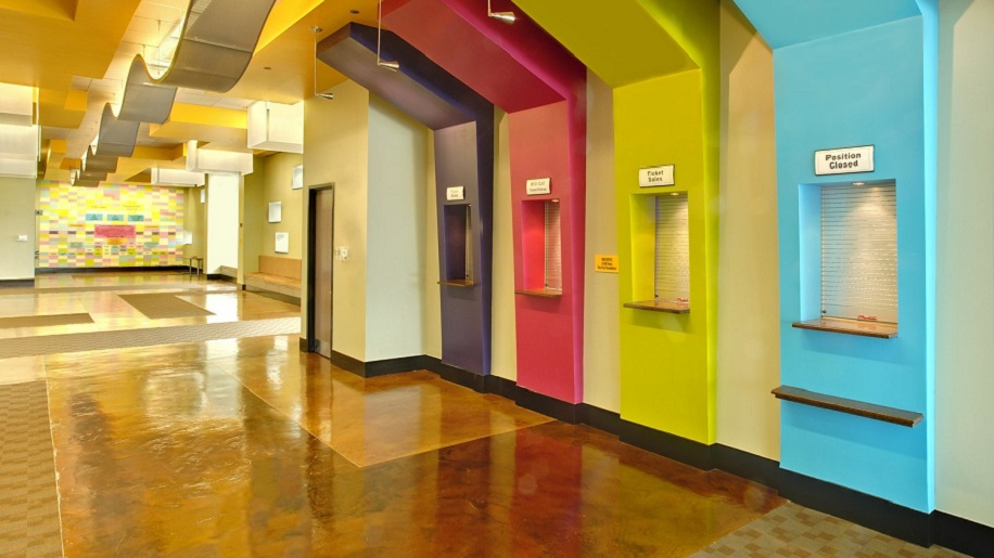 The inside of Nashville Children's Theatre