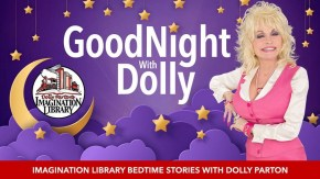 Goodnight with Dolly is a virtual read-aloud series for kids