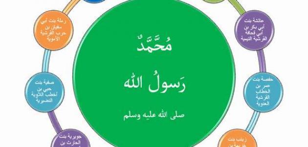 كم عدد زوجات النبي محمد صلى الله عليه وسلم موضوع