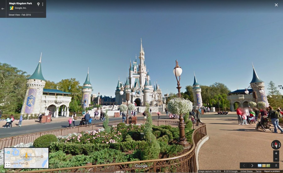 Disney Parks come to Google Maps Street View