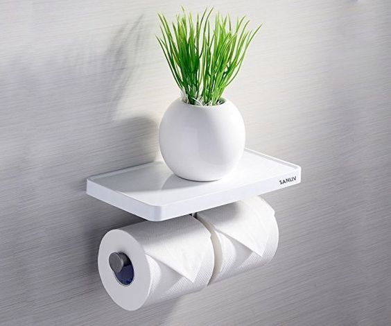 Keeping It Classy: Toilet Paper Holder Ideas, From DIY